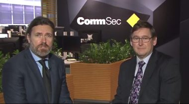 CEO Richard Seville talks with Commsec