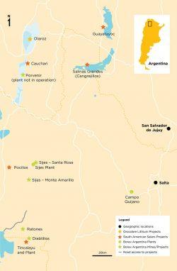 Borax Argentina location map