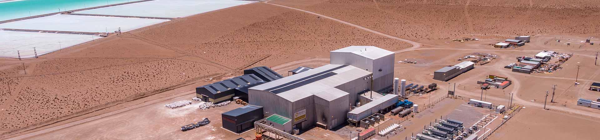 Salar de Olaroz Lithium Facility