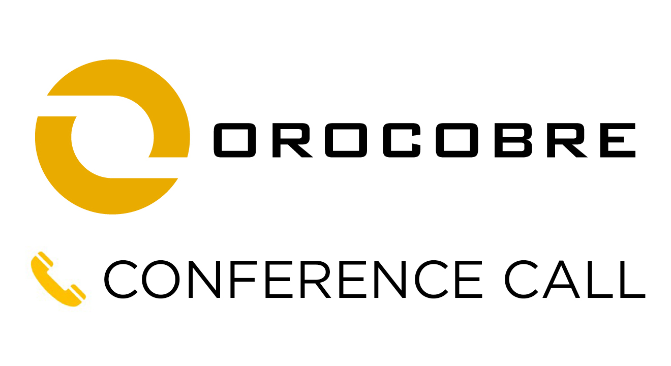 Orocobre Market Update Conference Call