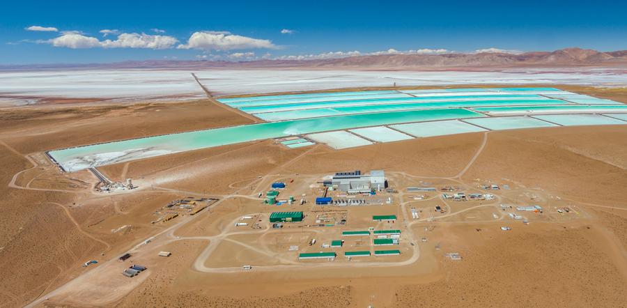 Orocobre's Salar de Olaroz Lithium Facility