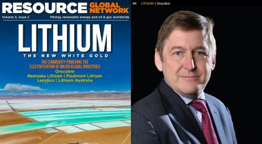 Resource Global Network magazine speaks with Orocobre MD/CEO Richard Seville