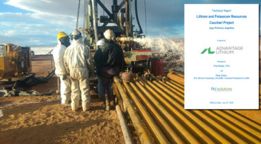 Cauchari JV Technical Report Completed
