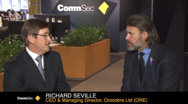 OROCOBRE Managing Director & CEO Richard Seville talks with Commsec