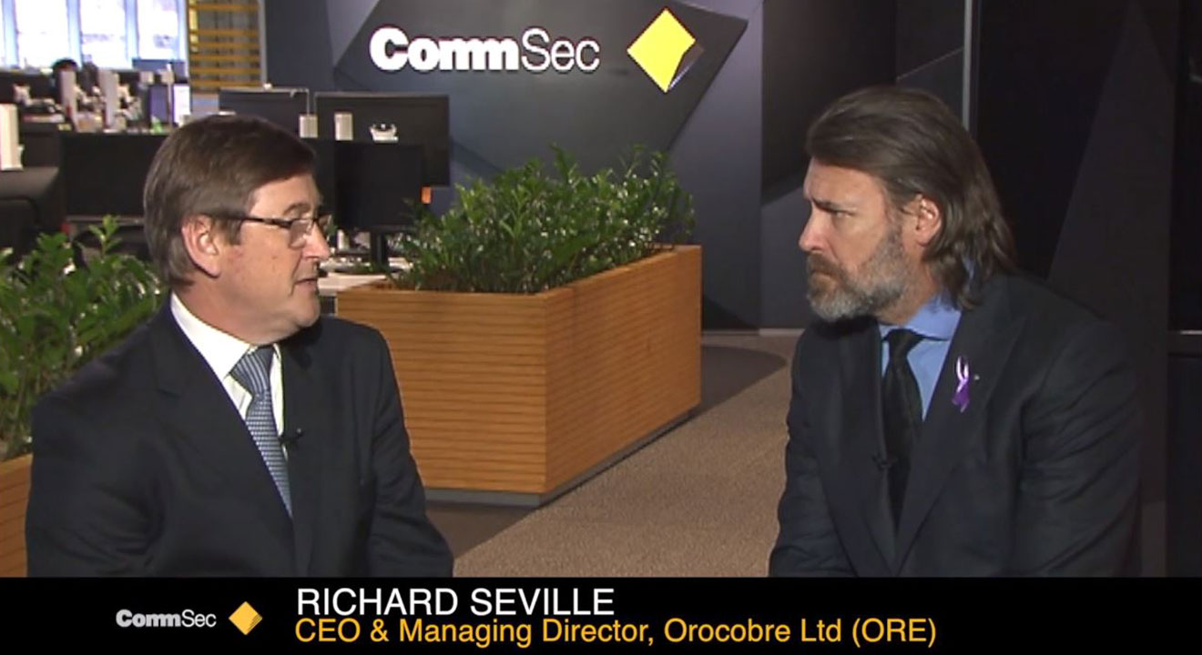 Orocobre CEO Richard Seville speaks to CommSec