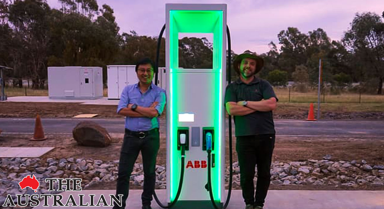 Australia's First 350kW Ultra-Fast Electric Vehicle Charging Stations Announced