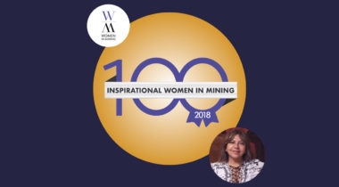 Silvia Rodriguez featured in Top 100 Global Inspirational Women in Mining