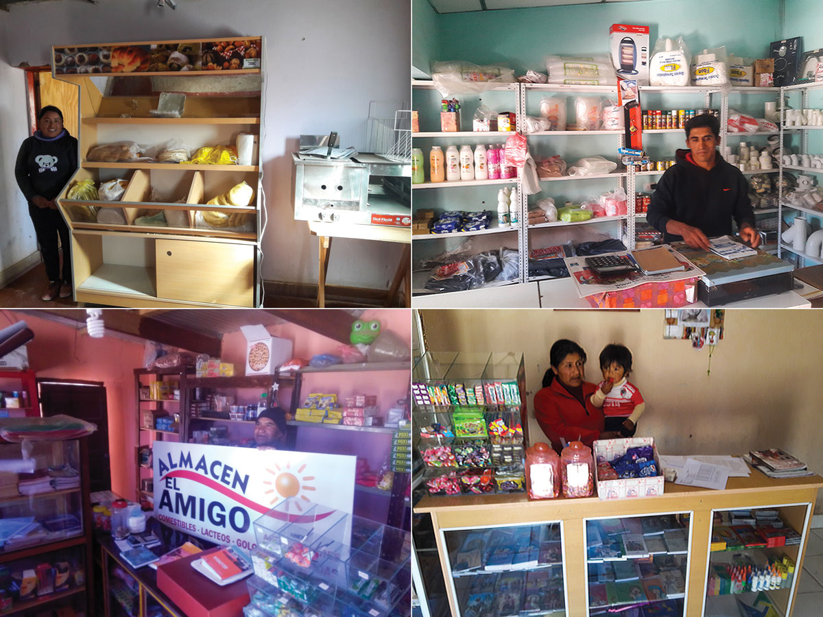 Sales de Jujuy Community Microcredit Recipients