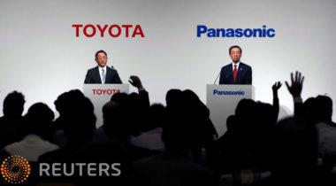 Toyota, Panasonic setting up EV battery JV amid rising China competition: source