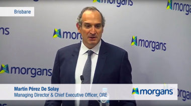 CEO & MD Martín Pérez De Solay provides a company update