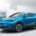 Hybrid Pioneer Toyota Finally Unveils Its First EV, The C-HR
