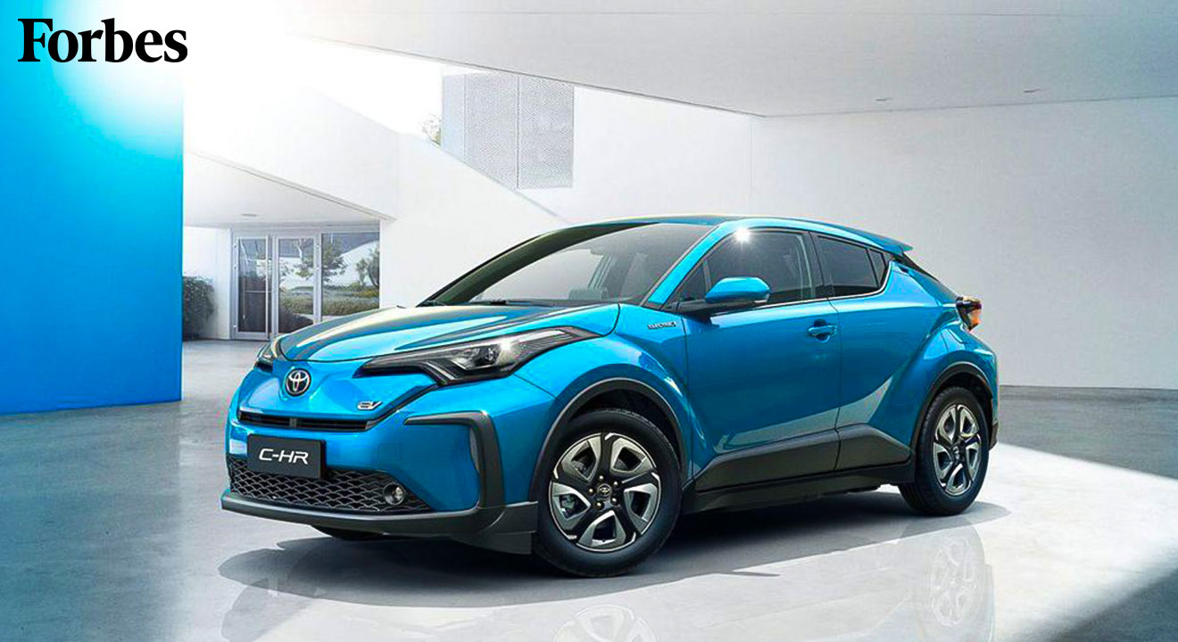Hybrid Pioneer Toyota Unveils Its First Ever EV, The C-HR