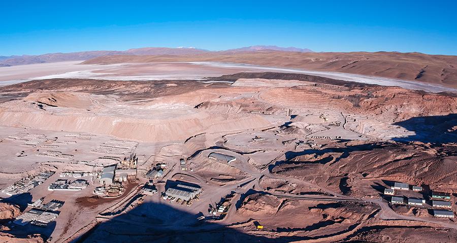 Borax Argentina Tincalayu Mine