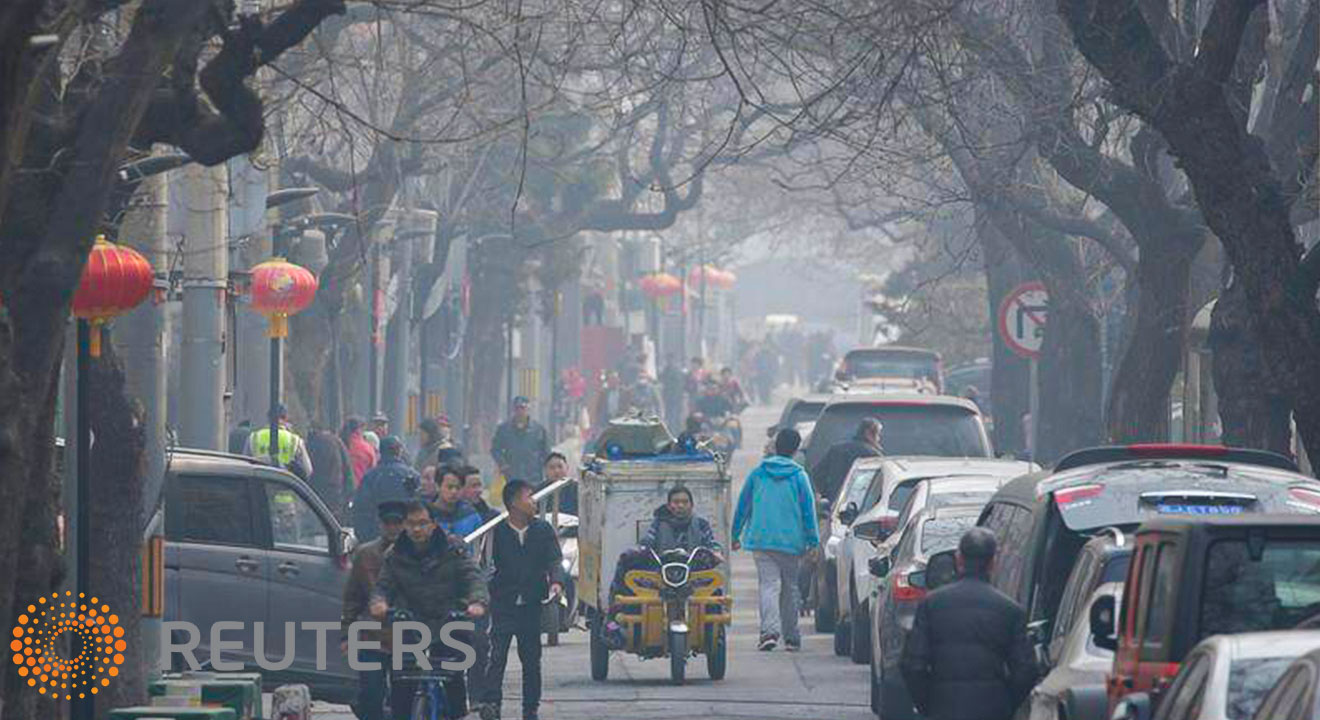 Beijing vehicles and air quality